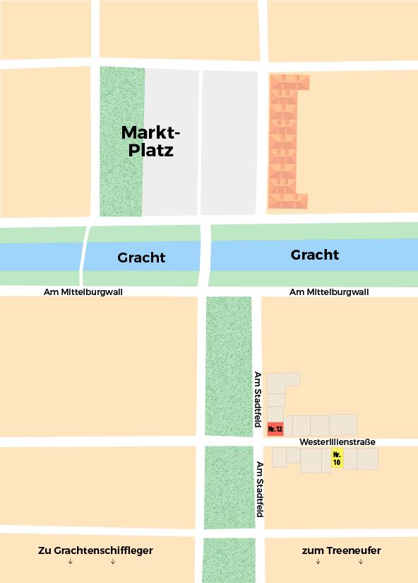 Lageplan Friedrichstadt